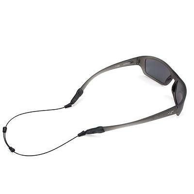 "Croakies ARC Endless Black 18"" Reg/XL Sunglass Sport Retainer NEW FREE SHIPPING"