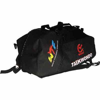WTF Approved Taekwondo Sports Duffel Gear Bag & Rucksack Backpack Kit Gym