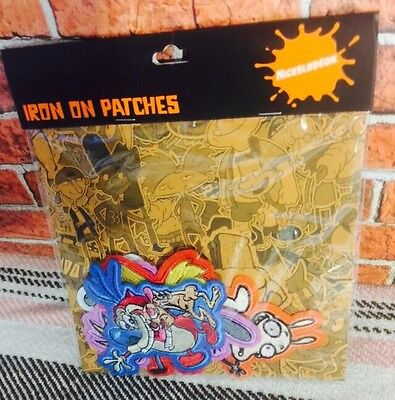 The Nick Box Exclusive Nicktoons Iron on Patches Set NEW