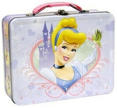 Princess Cinderella Carry All Tin Stationery Lunch Box