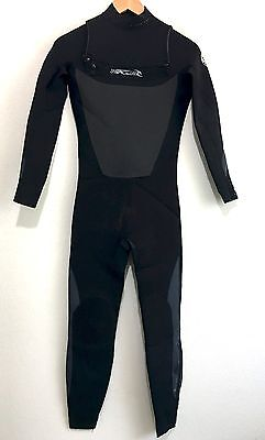 Rip Curl Childs Full Wetsuit Chest Zip E3 Sealed 3/2 Youth Kids Juniors Size 16