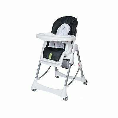 Steelcraft Messina Deluxe High Chair - Onyx