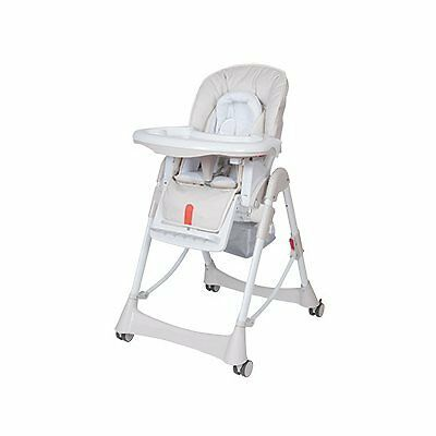 Steelcraft Messina Deluxe High Chair - Dove