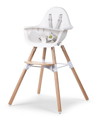 Childwood Evolu 2 High Chair - Natural / White