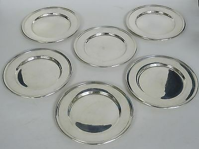 "LOT of  6 pcs WALLACE STERLING 2899 BREAD PLATE ~ 6"" / 488g"