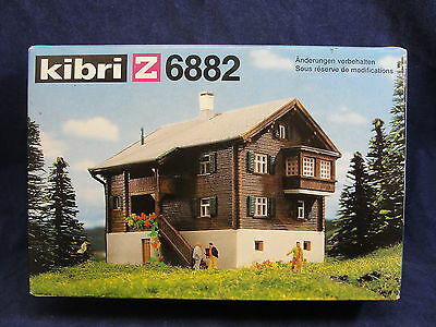 Kibri Z 6882 Country House Building Kit Marklin Mini Club Z Scale Train Layout