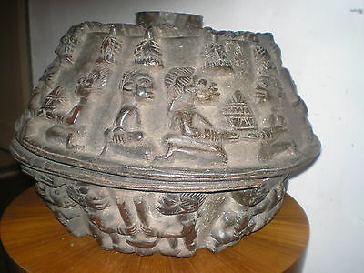 Large Older Yoruba Ifa Divination Bowl Agere Ifa