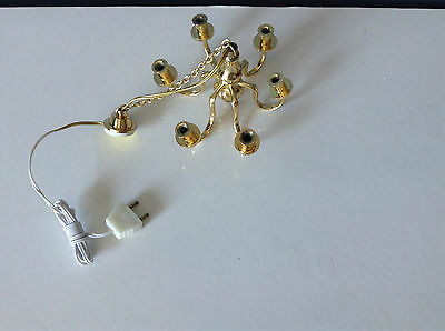 Dollhouse Miniature Lot Of Lighting Pcs
