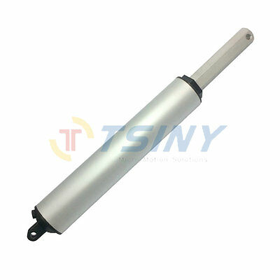 TSINY High Speed Electric Linear Actuator Stroke 100mm / 4inch Force 120N 24 VDC