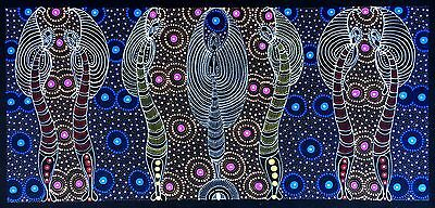 Colleen Bird Wallace NUNGURRAYI. Authentic Aboriginal Art. 100% Original.
