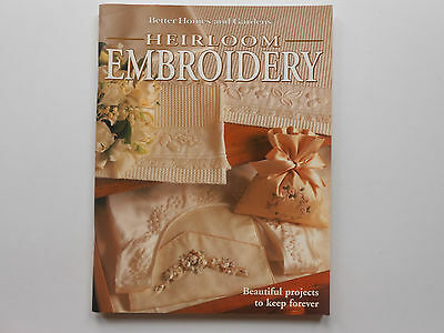 Heirloom Embroidery - Better Homes And Gardens - Patterns Attached - Like New