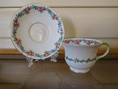 Aynsley Floral Duo 4353 Made In England