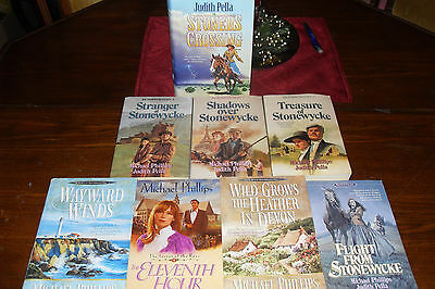 Nice Bundle of Romance by Michael Philllips & Judith Pella    free s/h CAN