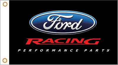 FORD RACING PERFORMANCE PARTS FLAG BANNER 3X5 advertising display mustang gt