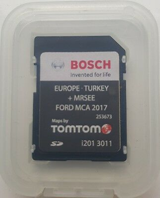 New! Latest! Ford Mca 2017 Sat Nav Europe Sd Card Maps Focus Mondeo Kuga Smax