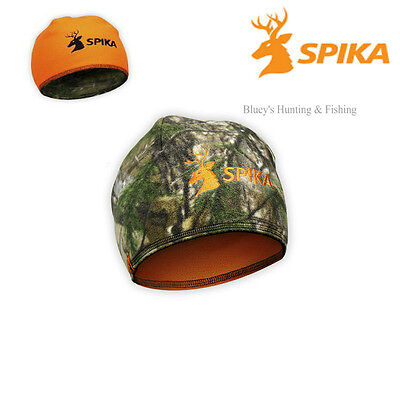 Spika Hunting shooting Alpine reversable RT-xtra Camo/Blaze fleece beanie H-303