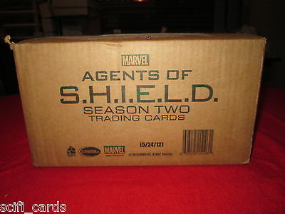 Agents of SHIELD Season 2 Sealed Case of Trading Cards Rittenhouse Autographs ++