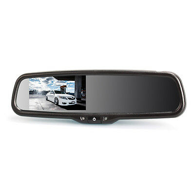 "DAuto Adjusting Brightness 4.3"" LCD Screen Car Rearview Mirror with Universal"