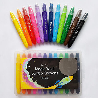 Magic Waxi Jumbo - Easy Glide Gel Crayons