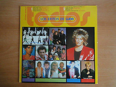 Vinyl  LP. Exitos de WEA / WEA Hits Compilation (Warner WEA 1984)  V. Originales