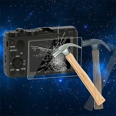 Tempered Glass Camera LCD Screen HD Protector Cover for Sony HX50/HX6 UK