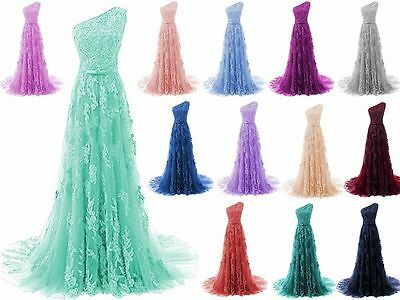 New Long Prom Dress Bridesmaid Formal Gown Ball Party Cocktail Evening Size 6-22