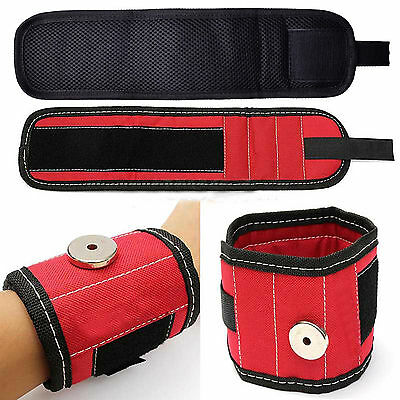 Magnetic Wristband Embedded Magnets for Holding Tools Screws Nails Bolts Gadgets