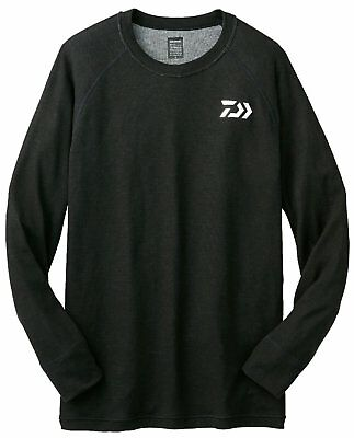 Daiwa Breath Magic Cool Neck Unterhemd 3204S, Funktions-Shirt, schwarz