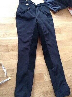Black Ladies Usg Soft Shell Olivia Breeches Size 12 Uk