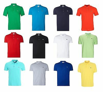 LACOSTE POLO HERREN POLOSHIRT KURZARM CLASSICFIT *NEU* *ORIGINAL* Made in France