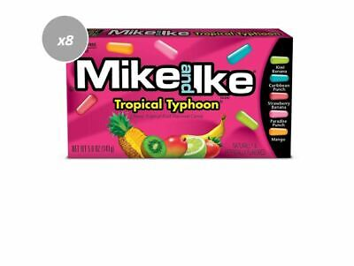 906196 6 x 141g BOXES OF MIKE & IKES, CHEWY TROPICAL FRUIT FLAV. CANDIES!
