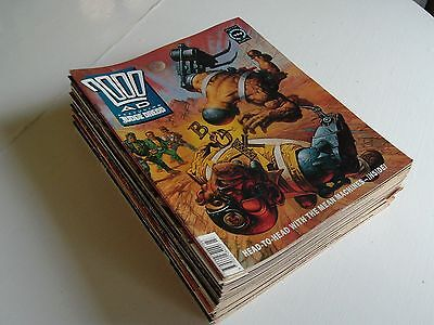 2000Ad Progs-28 Issues From 1991
