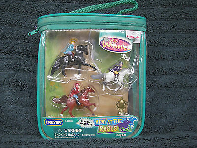 Breyer MW Mini Whinnies #300133 A Day At The Races Set NRFP