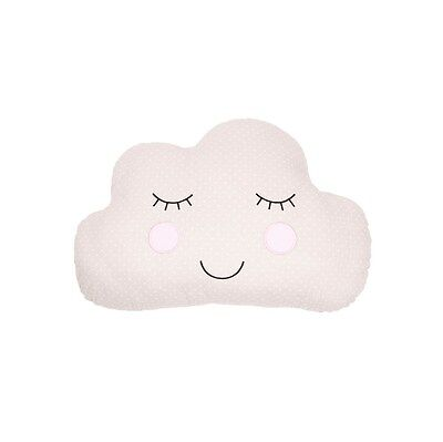 Sass & Belle Brown Polka Dot Cloud Cushion Nursery Baby Gift Bnwt Childrens Room