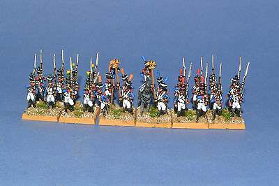 15mm Napoleonic painted War 1815 French Fusilier Battalion B63