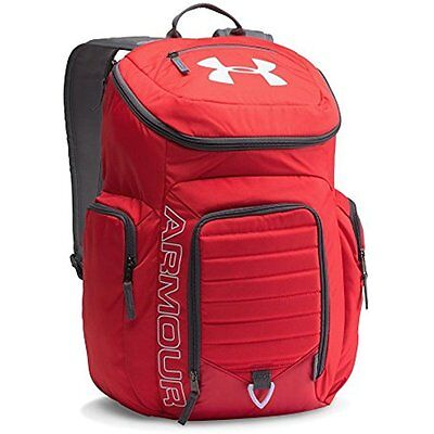 Under Armour Storm Undeniable Backpack, Red/Steel, One Size TRAVEL SET KIT GEAR