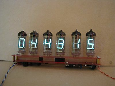Monjibox Nixie Alarm Clock VFD IV11 tubes fully assembled kit v2