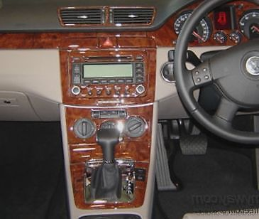 Volkswagen Passat Tdi Vw B6 Interior Burl Wood Dash Trim Kit Set 05 06 2007 2008