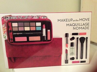 NEW/SEALED ELIZABETH ARDEN COSMETICS GIFT SET with Zipper Case & Cosmetic Clutch