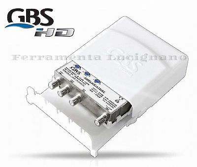 Amplificatore Tv Da Palo Gbs 44535/lte Regolabile Per Antenna Digitale Terrestre