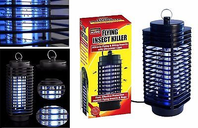 UV Fly Insects Killer Zapper Catcher Mosquito Bug Trap Lamp Electric Grill 21cm