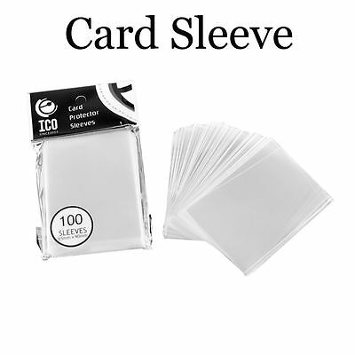 100pcs/pack 65*90mm Clear Dustproof Transparent Card Sleeves CPP Matrial