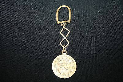Keychain With Coin On Bottom 1962 - 1 Sol De Oro From Peru - Gold Plated