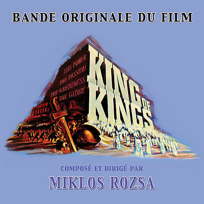 CD King of Kings - Miklos Rozsa / Movie Soundtrack / MONO OST