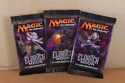 3x Magic The Gathering Eldritch Moon 15 Card Booster Pack