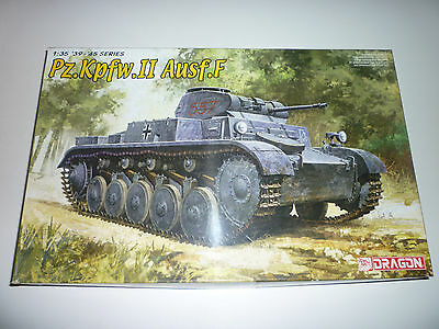 1/35 Dragon 6263 Panzer II Ausf.F + extras lote