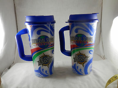 Whirley Coca Cola Universal Studios Island of Adventure insulated travel cups