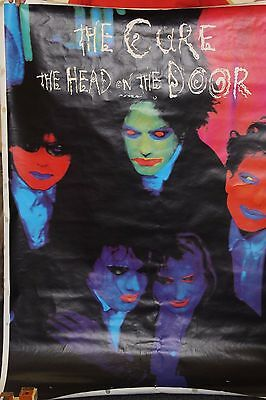 The Cure The Head On The Door Large Poster 1985