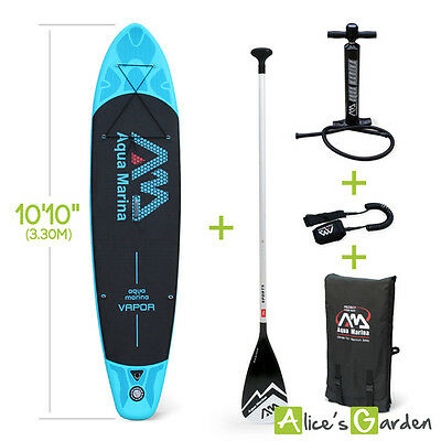 "Pack stand up paddle gonflable Vapor 10'10"" avec pompe haute pression, pagaie, l"