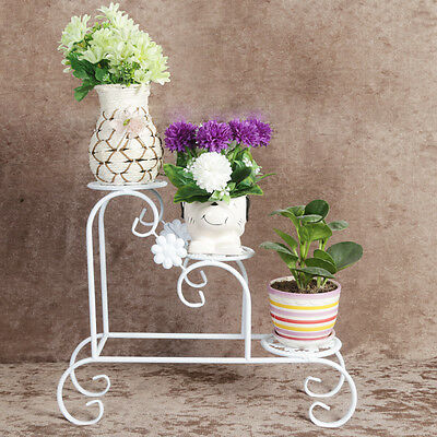 Small size Metal Plant Stand / Flower Pots Shelf